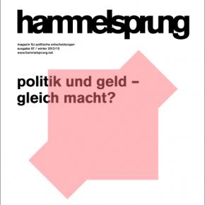 """Politik und Geld gleich Macht? – Der siebte """"Hammelsprung"""" erscheint"""