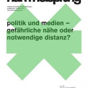 8. Ausgabe des Hammelsprung nun auch online verfügbar